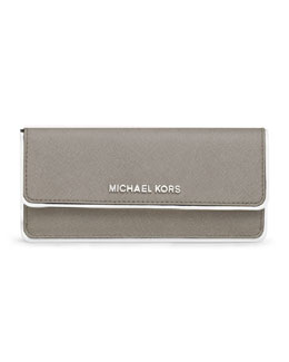 MICHAEL Michael Kors  Jet Set Travel Specchio Flat Wallets