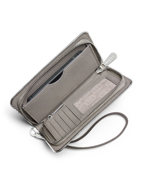 4a6f493af MICHAEL Michael Kors Jet Set Travel Specchio Large Multifunction Phone Cases