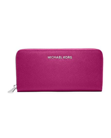 Jet Set Travel continental wallet - Pink & Purple Michael Michael Kors Ev6kk15
