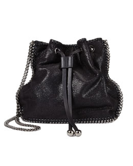 Stella McCartney Falabella Pouch Crossbody Bag, Black