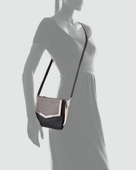 Lamanto Mini Trilogy Leather Crossbody Bag