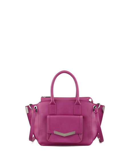Mini Jo Luggage Tote Bag, Magenta