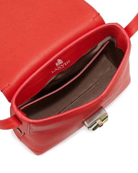 Edgy Happy Crossbody Bag, Red