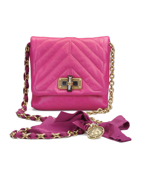 Lanvin Classic Happy Crossbody Bag, Fuchsia