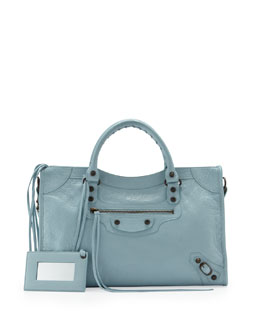 Balenciaga Classic City Bag, Blue
