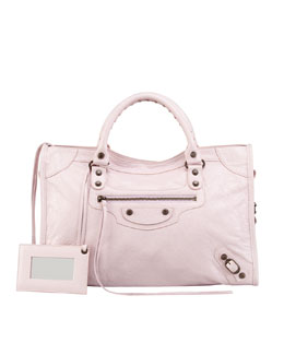 Balenciaga Classic City Bag, Rose