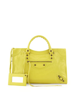 Balenciaga Classic City Bag, Yellow