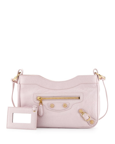 Balenciaga Giant 12 Golden Hip Crossbody Bag, Rose