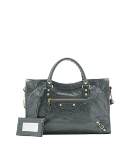 Balenciaga Giant 12 Golden City Bag, Anthracite