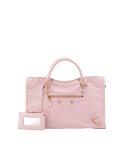 Balenciaga Giant 12 Golden City Bag, Rose