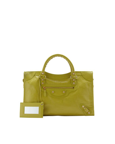 Balenciaga Giant 12 Golden City Bag, Jaune Poussin