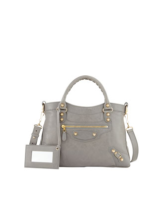 Giant 12 Golden Town Bag, Medium Gray