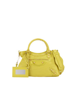 Balenciaga Giant 12 Golden Town Bag, Jaune Poussin