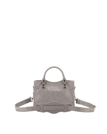 Classic Mini City Bag, Light Gray