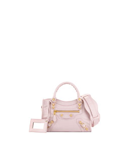 Balenciaga Giant 12 Golden City Mini Bag, Rose