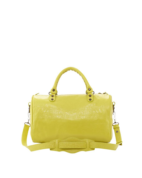Classic Boston Bag, Jaune Poussin