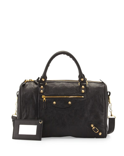 Balenciaga Giant 12 Golden Boston Bag, Black