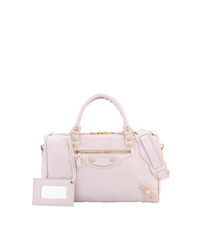 Balenciaga Giant 12 Golden Boston Bag, Rose