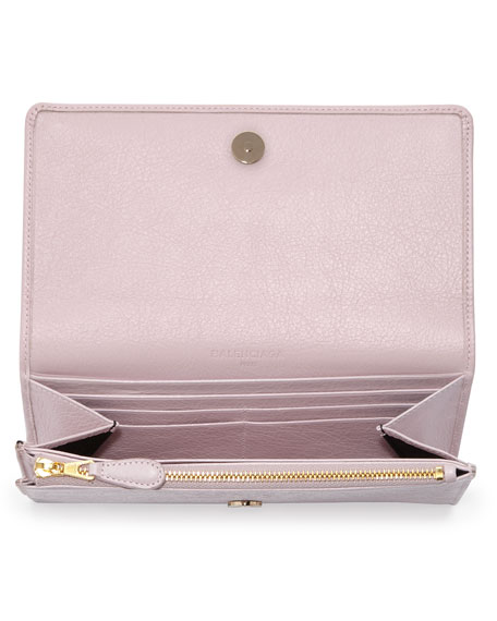 Giant 12 Golden Money Wallet, Rose