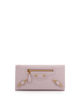 Balenciaga Giant 12 Golden Money Wallet, Rose