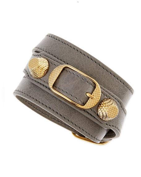 Giant 12 Yellow Golden Wrap Leather Bracelet