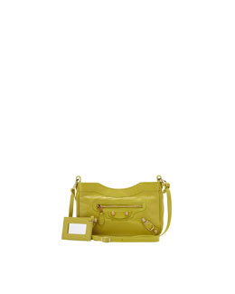 Balenciaga Giant 12 Golden Hip Crossbody Bag, Jaune Poussin