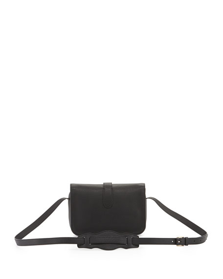 Tube Shoulder Bag, Black