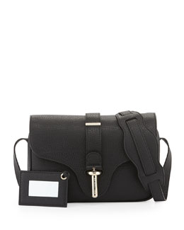 Balenciaga Tube Shoulder Bag, Black