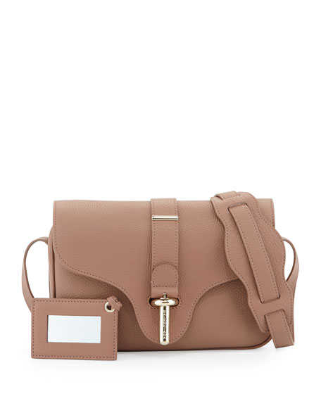 Tube Shoulder Bag, Dusty Rose