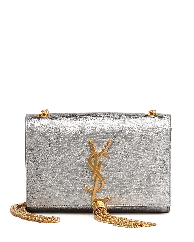 8035a7d457 Saint Laurent Cassandre Small Tassel Crossbody Bag