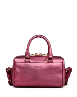 Saint Laurent Metallic Duffel Toy Saint Laurent Bag, Pink