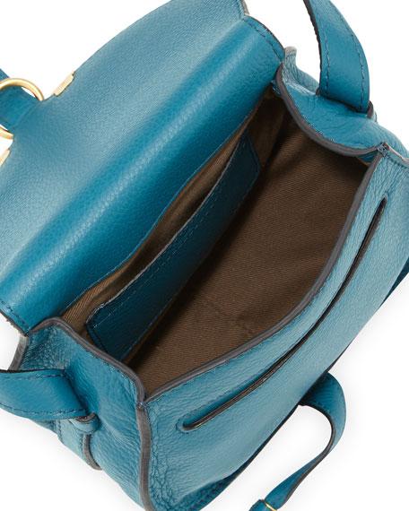 Marcie Small Crossbody Satchel Bag, Blue