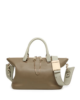 Chloe Baylee Medium Shoulder Bag, Gray