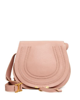 Chloe Marcie Medium Messenger Bag, Pink