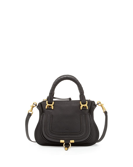 Marcie Crossbody Mini Shoulder Bag, Black