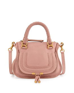 Chloe Marcie Mini Shoulder Bag, Pink