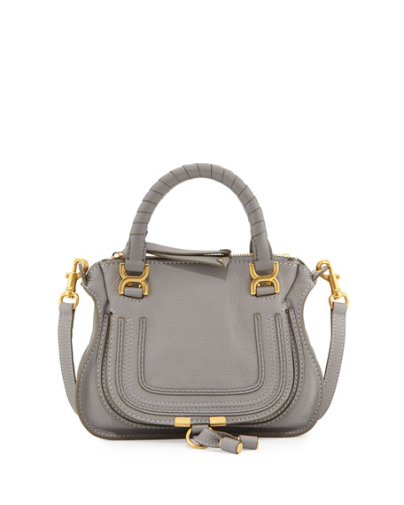 Marcie Mini Shoulder Bag, Gray