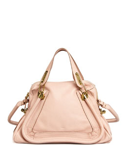 Chloe Paraty Medium Shoulder Bag, Pink