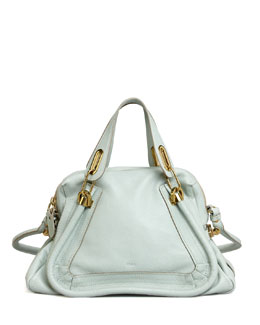 Chloe Paraty Medium Shoulder Bag, Blue