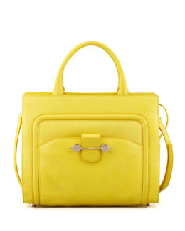 Jason Wu Daphne 2 Leather Crossbody Bag, Yellow