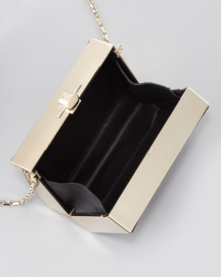 Karlie Star-Studded Box Clutch Bag
