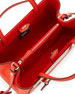 2Jours Saffiano Mini Tote Bag, Red Orange