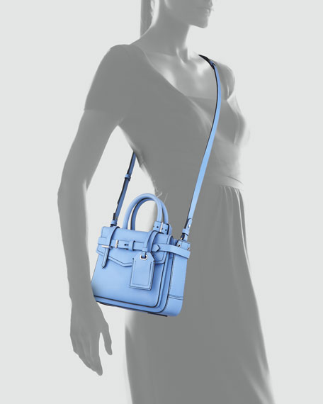 Boxer Micro Tote Bag, Blue