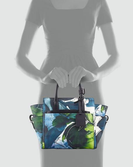 Atlantique Mini Tote, Floral Print