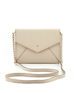 kate spade new york cedar street monday crossbody bag, clocktower