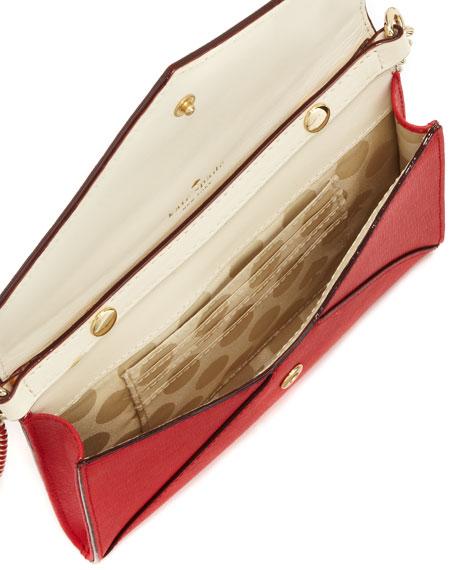 cedar street monday crossbody bag, garnet