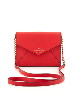 kate spade new york cedar street monday crossbody bag, garnet