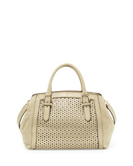kate spade new york mercer isle sloan satchel bag, ostrich egg