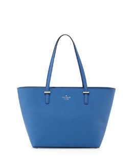 kate spade new york cedar street small harmony tote bag, bluebell