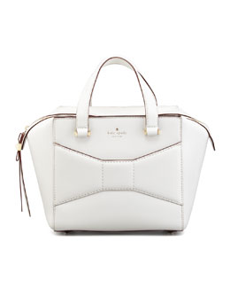 kate spade new york 2 park avenue beau small shopper tote bag, cream